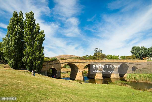 Historic Richmond Bridge, Tasmania, Australia