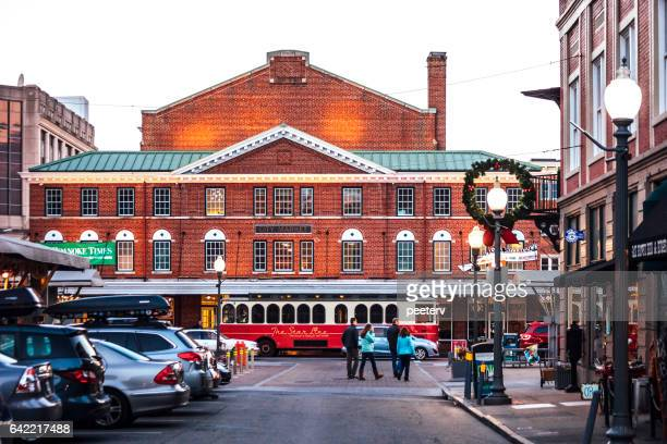 historic roanoke city market. - virginia stock photos and pictures
