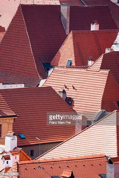 Historic roofs, Cesky Krumlov