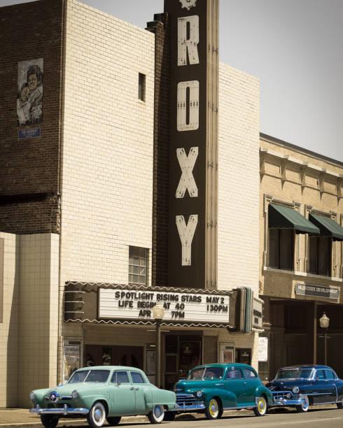 Historic Roxy Theater on the Jefferson Highway
