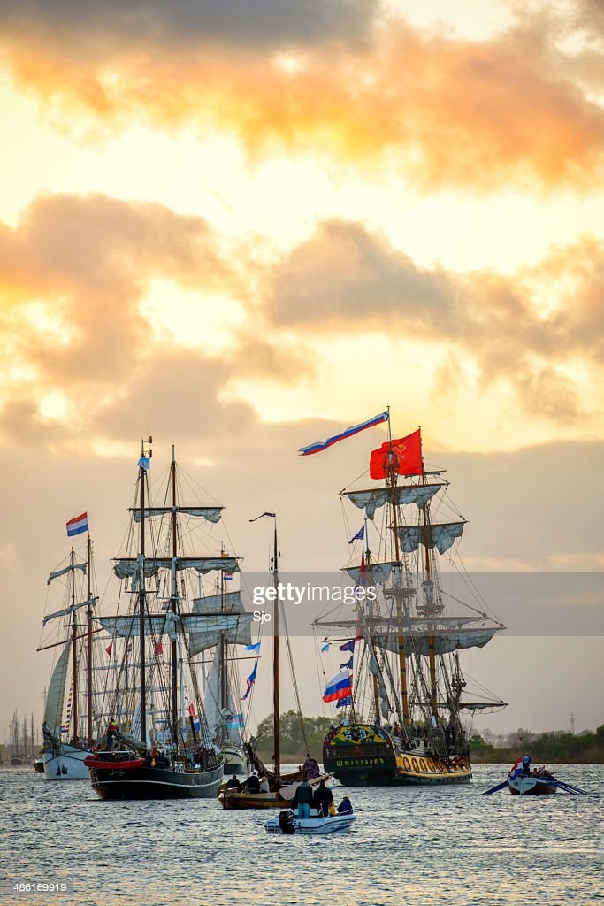 historic sailing ships stock photo getty images