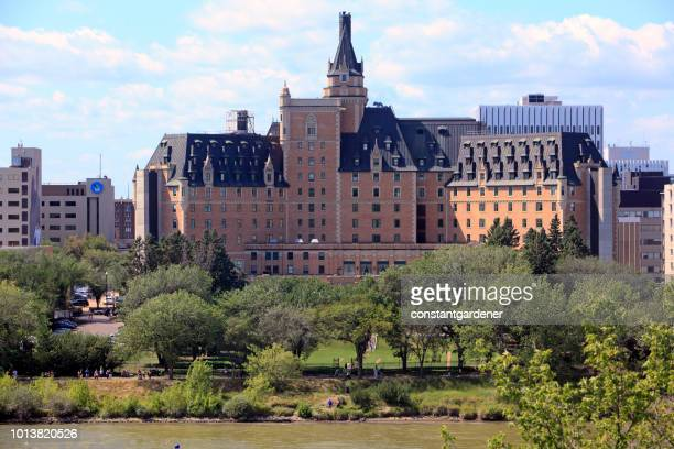 Historic Saskatoon Hotel And River Walkway