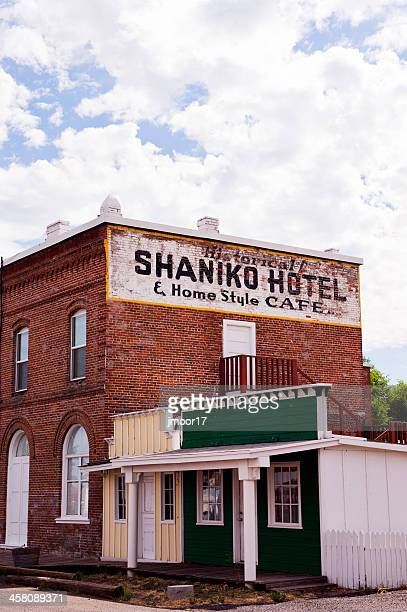 Historic Shaniko Ghost Town Hotel in Central Oregon