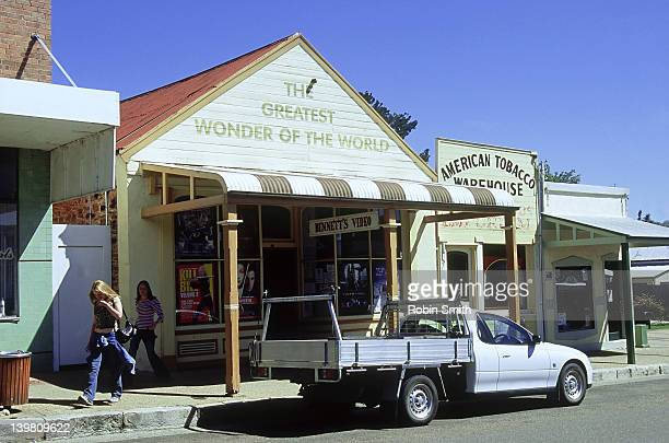 Historic shops, Gulgong, NSW