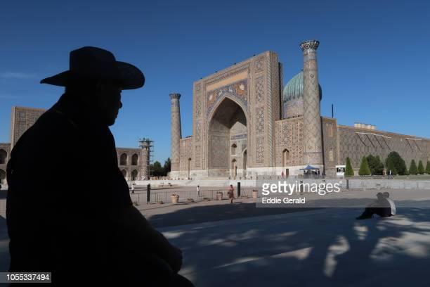 Historic sites in Bukhara, Uzbekistan