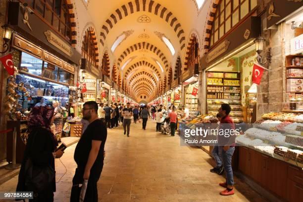 Historic Spice Market in Istanbul,Turkey