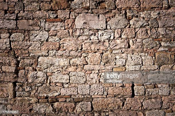 historic stone wall - stone wall stock pictures, royalty-free photos & images