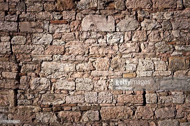 La histórica stone wall