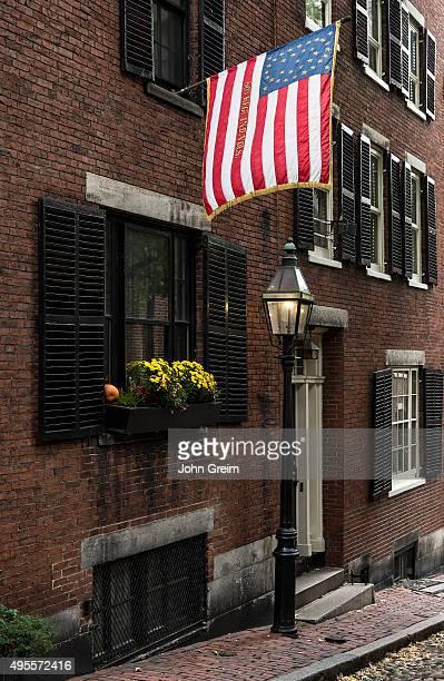Historic street in the Beacon Hill neighborhood