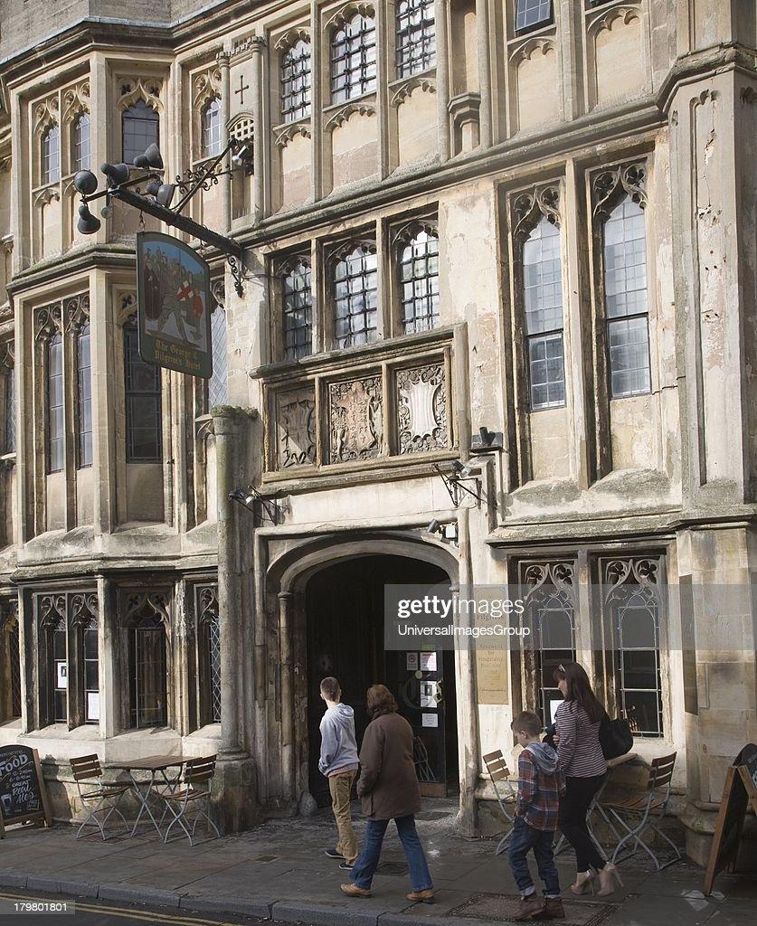 Historic The George And Pilgrims Hotel Glastonbury Somerset England