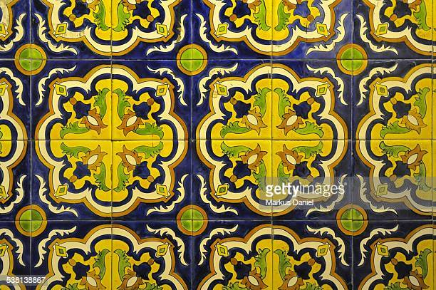 Historic Tile Floor in Nuestra Senora de la Merced