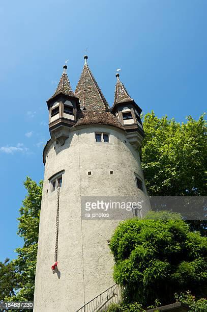 Historischer Turm aus Lindau, Deutschland