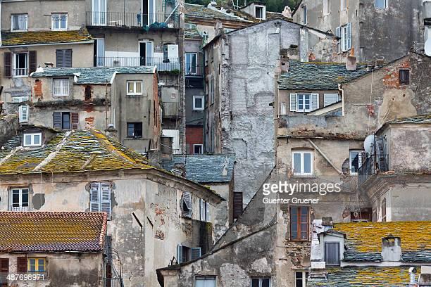 Historic town centre of Terra Vecchia, Bastia, Haute-Corse, Corsica, France