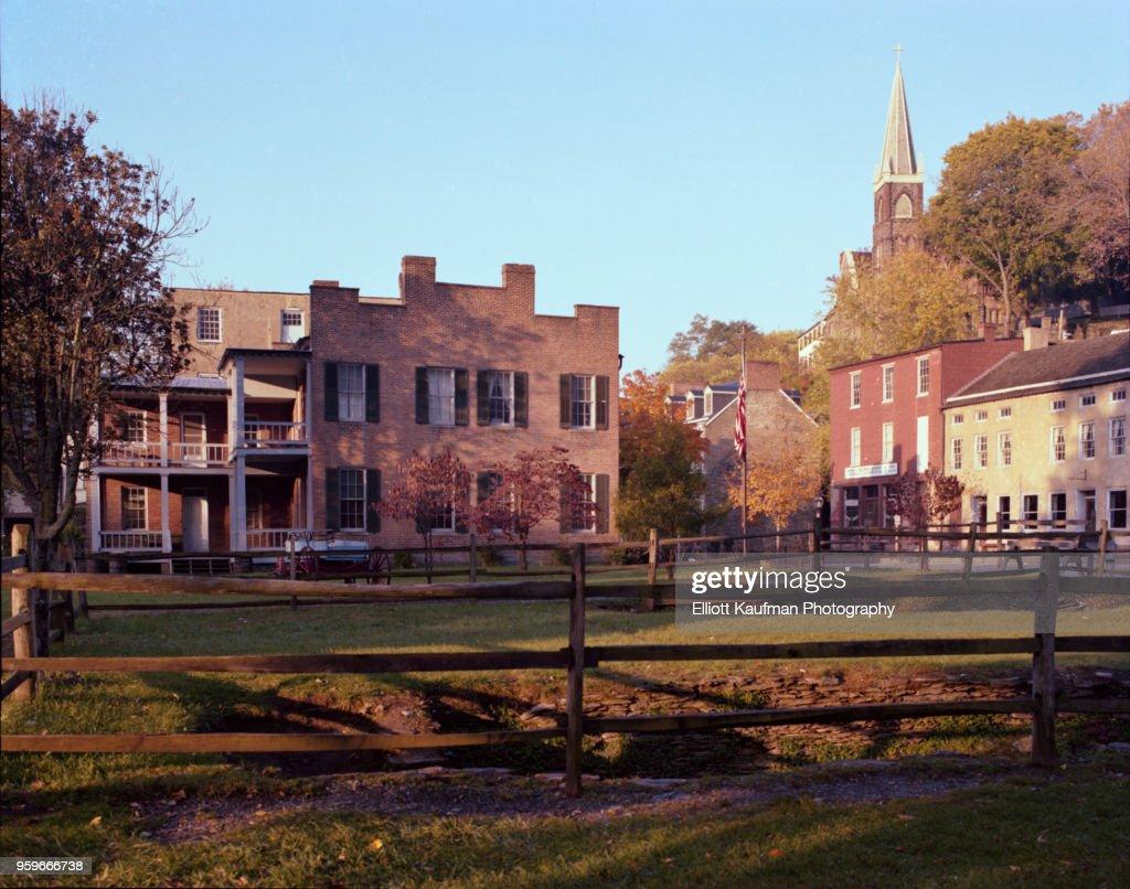 Historic town in West Virginia : Stock-Foto