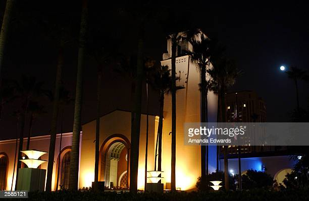 Historic Union Station sets the scene for the Los Angeles Conservancy 25th Anniversary Gala at The Grill at Union Station October 11 2003 in Los...