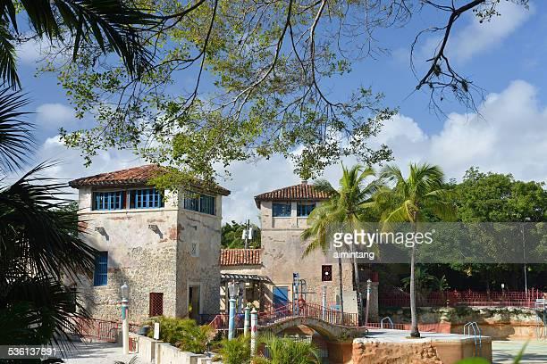 Historic Venetian Pool in Coral Gables of Florida