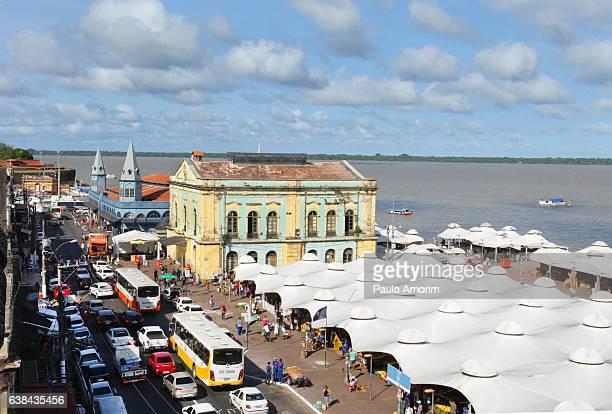 Historic Ver-o-Peso Market in Belém,Brazil