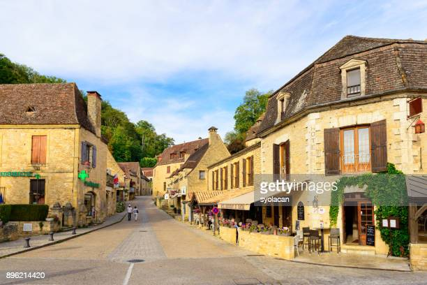 Historic village Gabarres de Beynac in France
