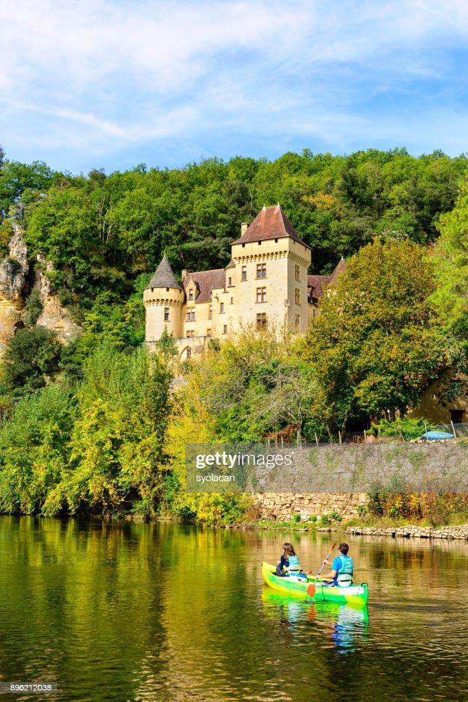 Historic village La Roque Gageac in France : Stock Photo