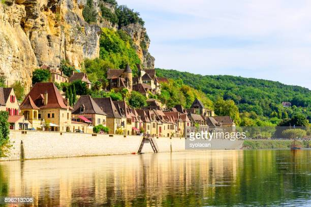 Historic village La Roque Gageac in France