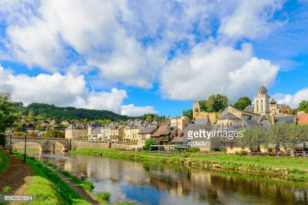 historic village montignac in france - syolacan stock pictures, royalty-free photos & images