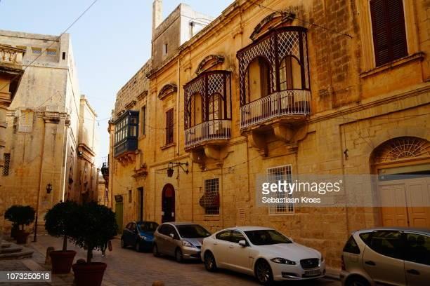 Historic Villegaignon Street, Mdina, Malta