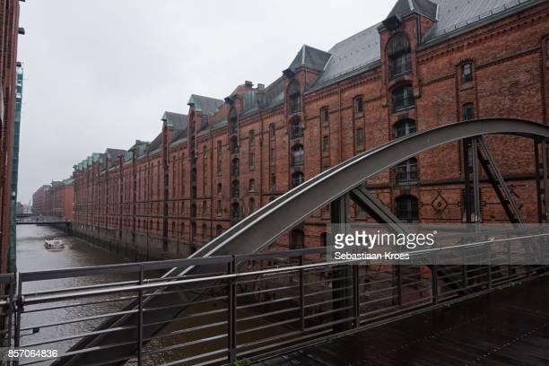 Historic Warehouses at Speicherstadt, Hamburg, Germany