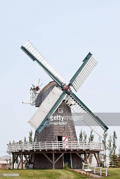 Historic Windmill in Steinbach