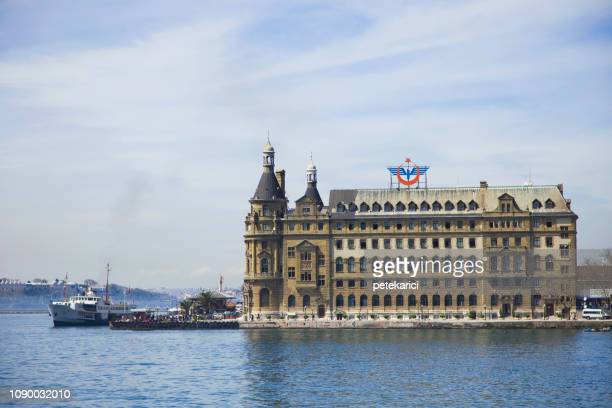 Historical building of Haydarpasa Railway Station, Istanbul, Turkey