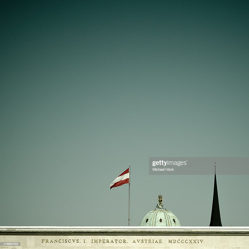 Historical buildings in Vienna : Stock Photo