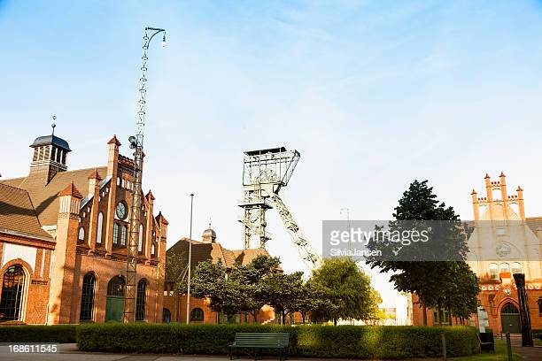 historical coal mine zeche zollern in dortmund - ruhr stock pictures, royalty-free photos & images