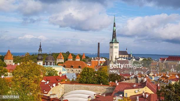 Historical distric in Tallinn, Estonia