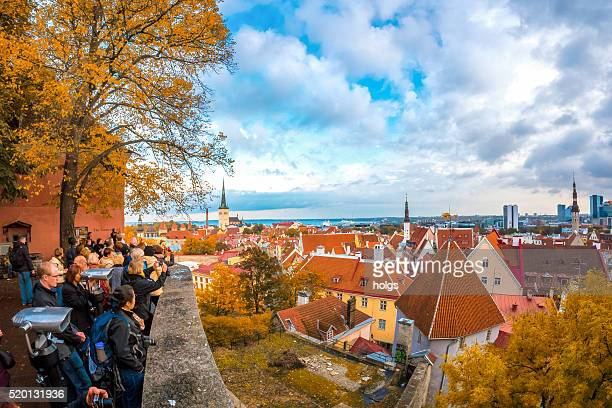 historical distric in tallinn, estonia - tallinn stock pictures, royalty-free photos & images