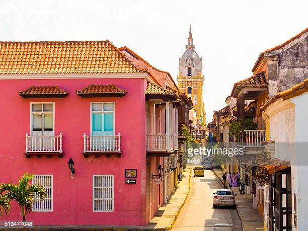 Historisches Viertel in Cartagena, Kolumbien