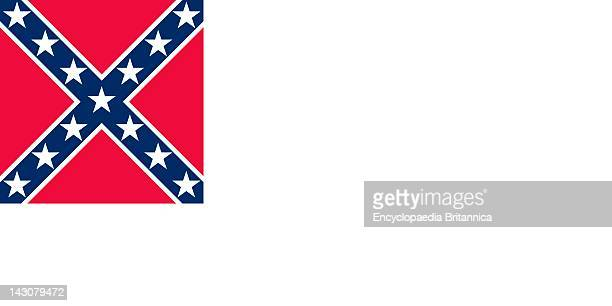 Historical Flag Of The United States Of America The Stainless Banner The Second Flag Of The Confederate States Of America May 1 1863