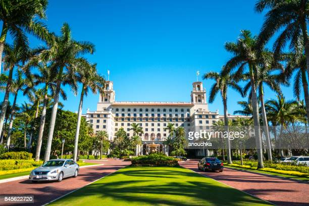 historical hotel the breakers, luxury resort in palm beach, florida, usa - the breakers stock photos and pictures