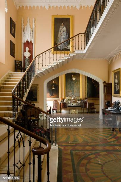 historical house prideaux place in cornwall - majestic stock pictures, royalty-free photos & images