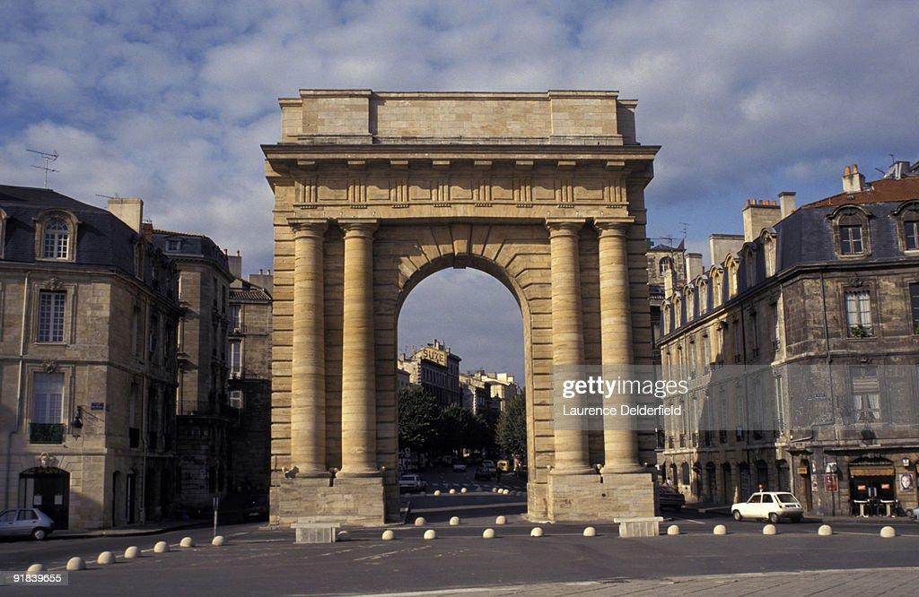 Historical landmark in Aquitaine, France : Stock Photo