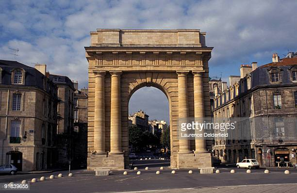 historical landmark in aquitaine, france - aquitaine stock photos and pictures