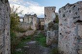 historical lycian village kayakoy fethiye mugla