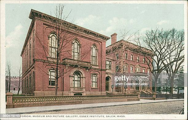 Historical Museum and Picture Gallery Essex Institute Salem Massachusetts 1926