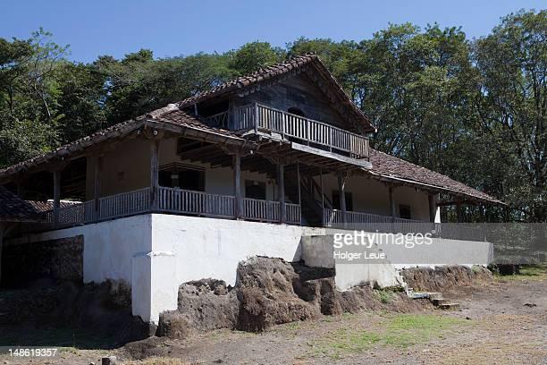 historical museum at la casona. - parque nacional de santa rosa fotografías e imágenes de stock