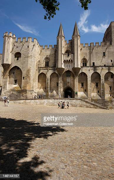 Historical Palace, Palais des Papes, Avignon, France