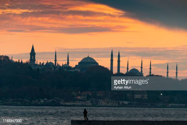 historical peninsula of istanbul, turkey - peninsula stock pictures, royalty-free photos & images