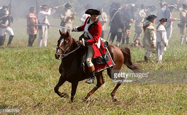 Historical reenactment of the Philadelphia Campaign of 1777 Brandywine Creek State Park