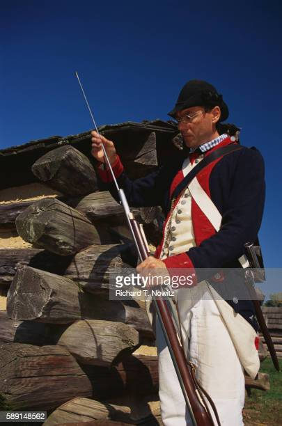 Historical Reenactor at Valley Forge