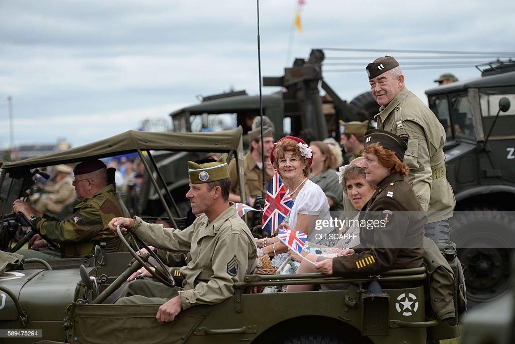 Military Reenactment Costumes & Historical Reenactors Take