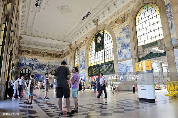 Historical Sao Bento railway station