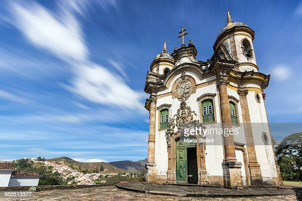 historical town ouro preto, unesco world heritage - preto stock pictures, royalty-free photos & images