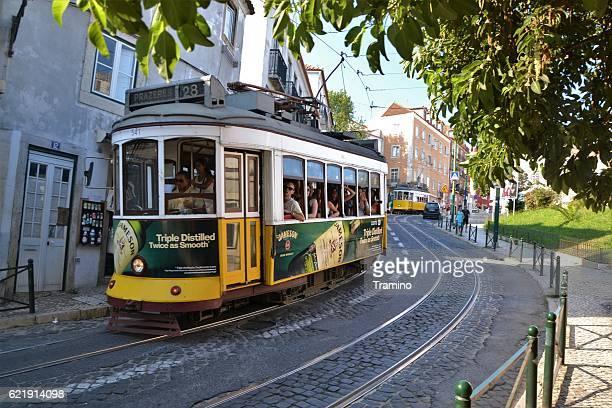 Tranvías históricos en Lisboa